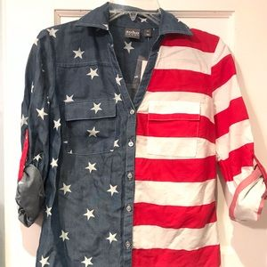 New York & Co. 4th of July shirt